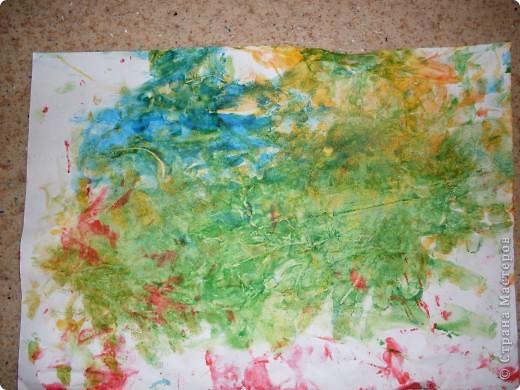 Вот так рисовал мой сынок на днях,Работы минут на 10,зато воссторга и уборки.....))))).это с чего начинал, фото 1