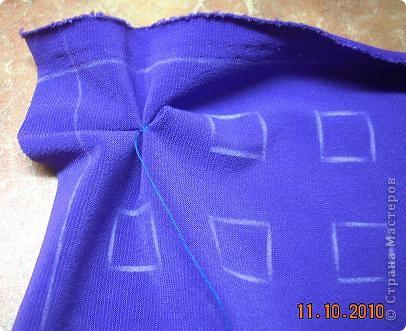 Сделала заготовку еще для одной подушки с буфами. Идею взяла здесь http://www.knigazhizny.ru/view_post.php?id=93 фото 6