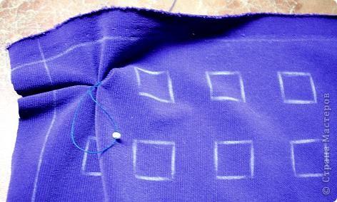 Мастер-класс Шитьё Буфы Цветочные Бисер Нитки Ткань фото 7