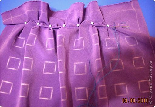 Мастер-класс Шитьё Буфы Цветочные Бисер Нитки Ткань фото 10