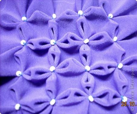 Мастер-класс Шитьё Буфы Цветочные Бисер Нитки Ткань фото 1
