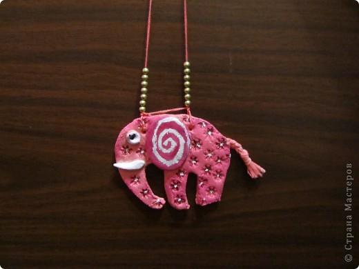 Розовый слон - слон цвета мечты. Делали всесте с дачкой. Очень его полюбили, хоть и кривенький слегка. фото 1
