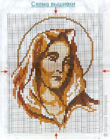 Вышивка крестом Мадонна