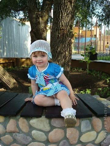 Ещё летние шапочки для дочек фото 2