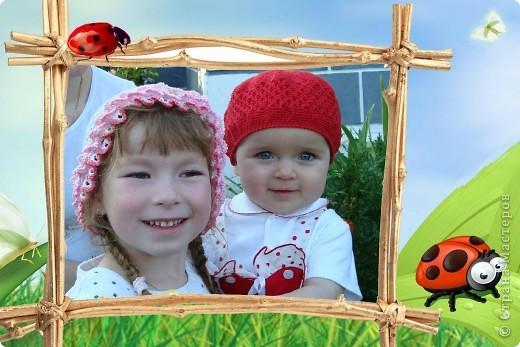 Ещё летние шапочки для дочек фото 1