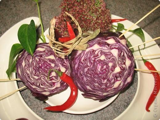 Икебана с овощами фото 3