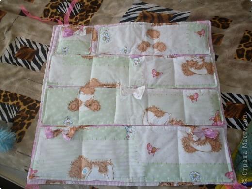 Накладные карманы на детскую кроватку фото 2