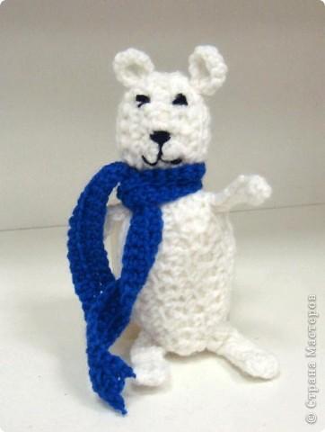 """Белый медведь"". Габараева Аня 4 кл. (2010) фото 1"