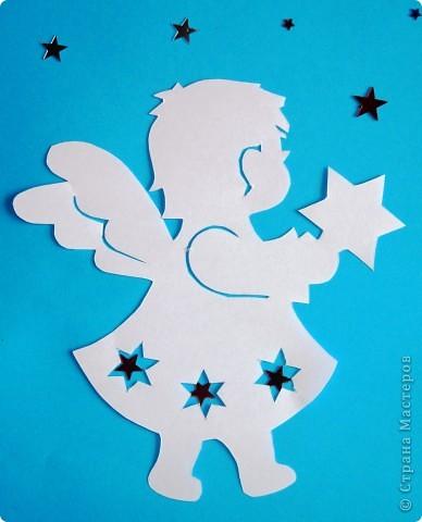 Шаблоны рождественских ангелочков своими руками