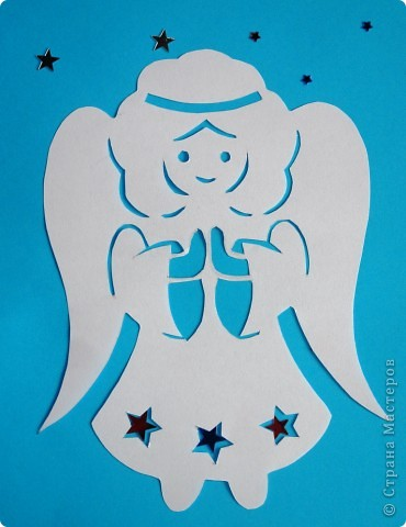 Ангелочки Бумага фото 2