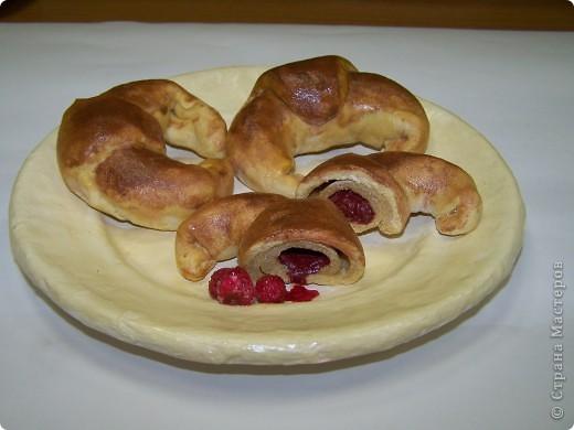 Круассаны (Соленое тесто+папье-маше)