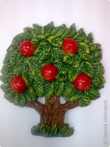 Яблоня (Соленое тесто)