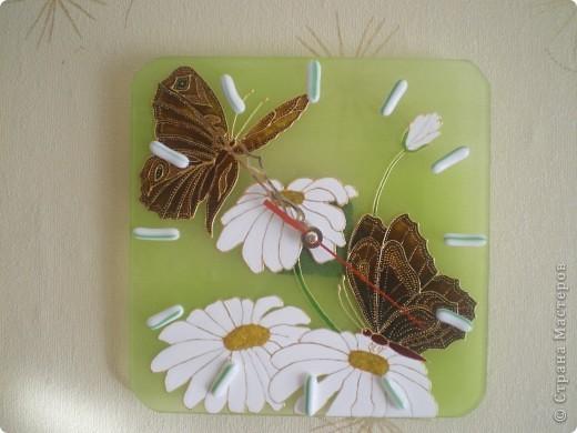 Бабочки на цветах фото 2