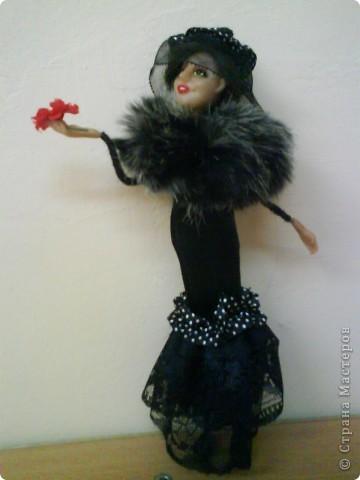Кукла сделана из материала Cernit. Рост куклы 23 см. фото 1
