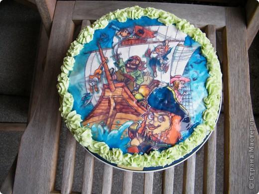 День рождения любимого пирата - декор, газета, стол и мы))) фото 34