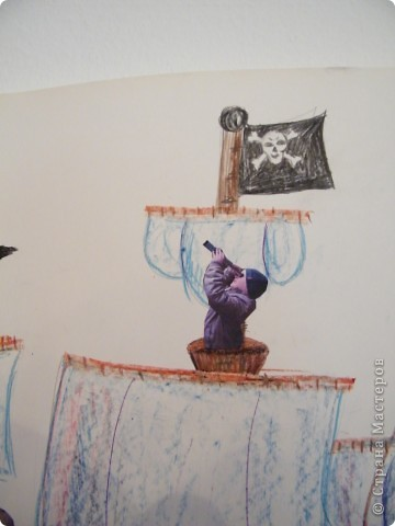 День рождения любимого пирата - декор, газета, стол и мы))) фото 12