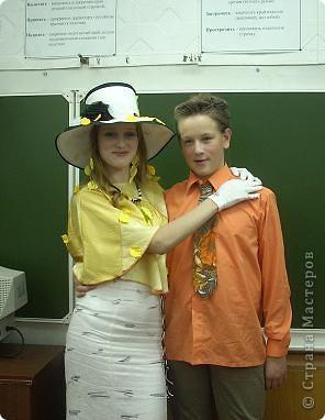 Вчера, в последний день четверти в нашей школе проводился Осенний бал. Мой 8а класс представлял модель березки. фото 8