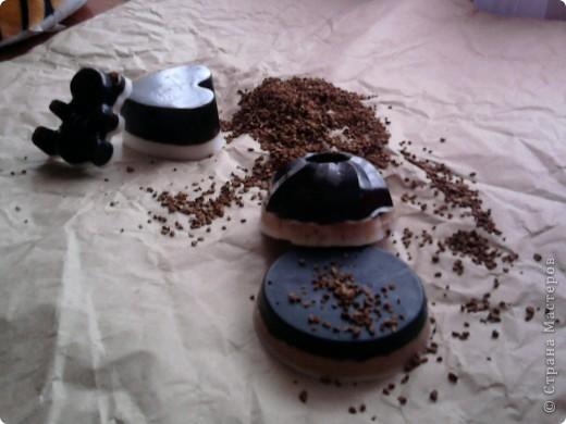 Кофейное и шоколадное мыло фото 1