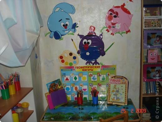 Оформление изо уголков в детском саду своими руками картинки
