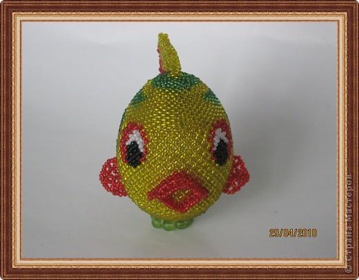Рыбка сделана ещё весной, но всё руки не доходили , или лень-матушка не давала её Вам показать ... фото 3