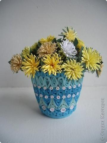 хризантемки в вазе фото 1