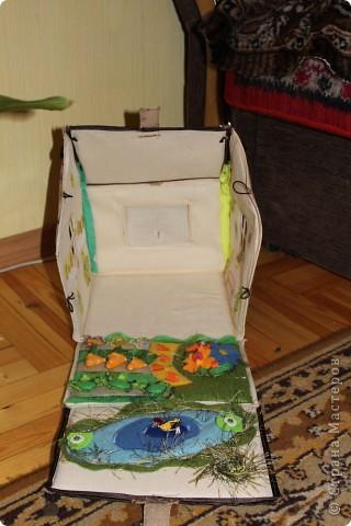 Вот и готов мой домик!!! Огромнейшее спасибо за идею anatolьne http://stranamasterov.ru/node/99353?tid=903 . Вы меня так вдохновили своей работой.  фото 3