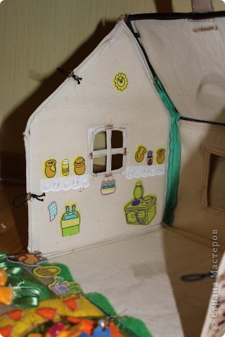 Вот и готов мой домик!!! Огромнейшее спасибо за идею anatolьne http://stranamasterov.ru/node/99353?tid=903 . Вы меня так вдохновили своей работой.  фото 8