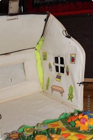 Вот и готов мой домик!!! Огромнейшее спасибо за идею anatolьne http://stranamasterov.ru/node/99353?tid=903 . Вы меня так вдохновили своей работой.  фото 9