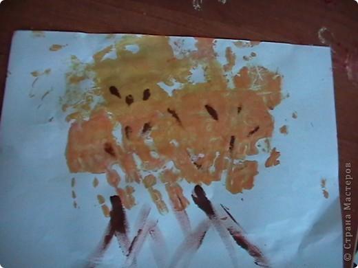 рыбка. Дочь очень любит рыбок и рисует их чаще остальных. фото 5