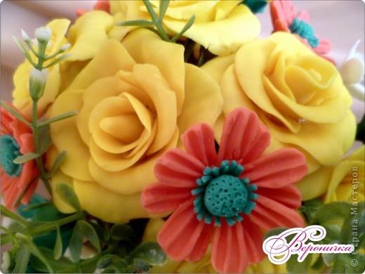 """Букет """"Желтые розы""""  фото 4"""