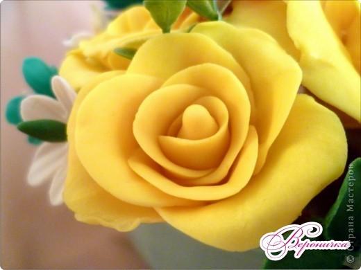 """Букет """"Желтые розы""""  фото 5"""