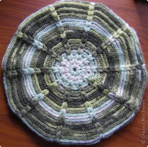 Для вязания берета использовала пряжу - Ангора батик (Angora batik) 50 % мохер 50% акрил. Состав: 50% мохер 50% акрил Вес: 100гр Длина нити в мотке: 440м Потребовалось около 150 г. фото 5