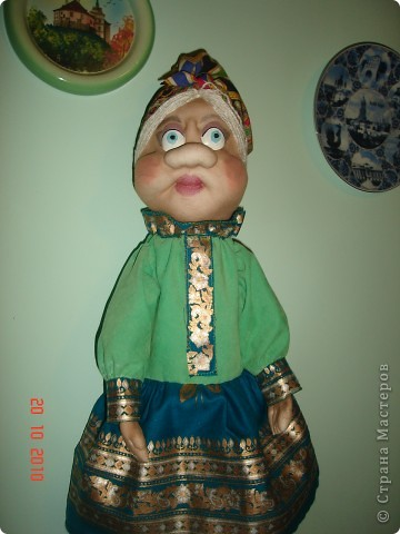 Моя первая кукла по мк Лкмы. Как она Вам? фото 1