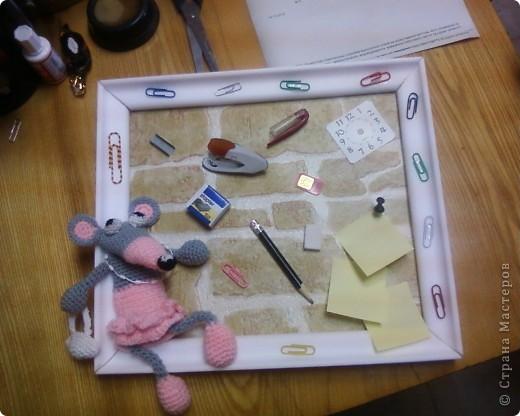 Вот такая крыска поселилась у нас в бухгалтерии. фото 1