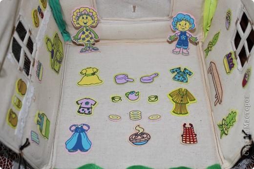 Вот и готов мой домик!!! Огромнейшее спасибо за идею anatolьne http://stranamasterov.ru/node/99353?tid=903 . Вы меня так вдохновили своей работой.  фото 11