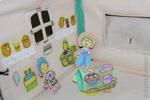 Вот и готов мой домик!!! Огромнейшее спасибо за идею anatolьne http://stranamasterov.ru/node/99353?tid=903 . Вы меня так вдохновили своей работой.  фото 12