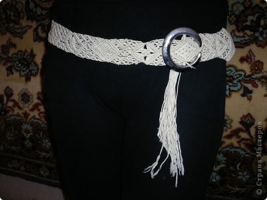 плетеный пояс фото 3
