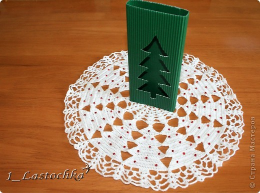 Для новогоднего подарка можно сделать такую подарочную упаковку. фото 4
