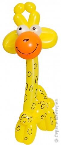 Инструкция жирафа из шариков