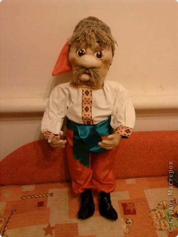 Моя первая кукла по мк Лкмы. Как она Вам? фото 2