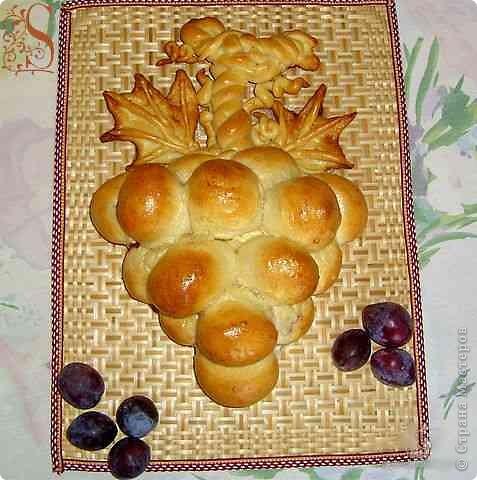 "Пирог ""Гроздь винограда"""