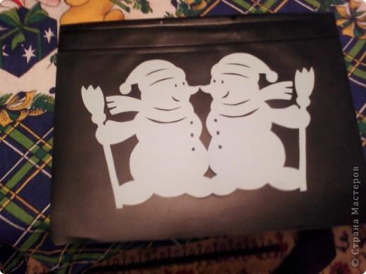 Украшение для новогоднего стола фото 2