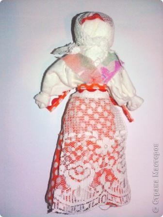 Тряпичная кукла...