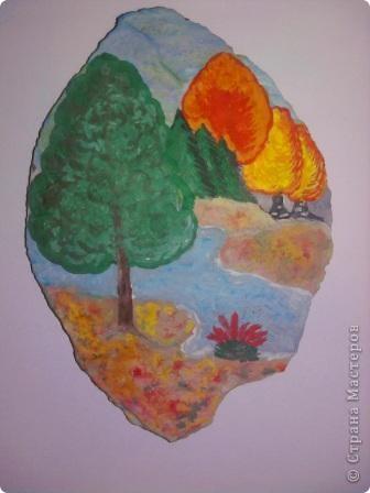 Осень на камне)