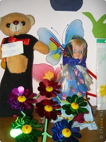 "Кукла ""Алёнушка"". Постарались Даша Балдина с мамой. фото 6"