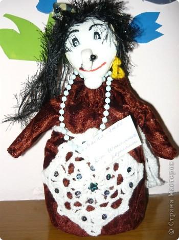 "Кукла ""Алёнушка"". Постарались Даша Балдина с мамой. фото 7"