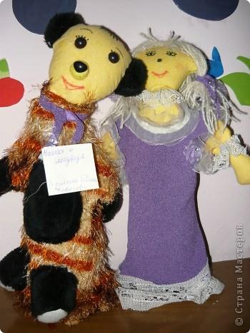 "Кукла ""Алёнушка"". Постарались Даша Балдина с мамой. фото 8"
