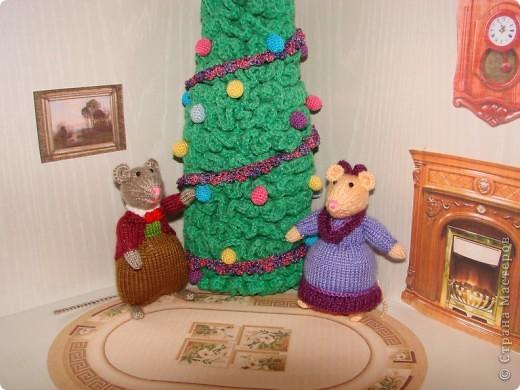 У моих мышек уже Новый год!!! фото 5