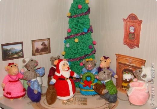 У моих мышек уже Новый год!!! фото 1