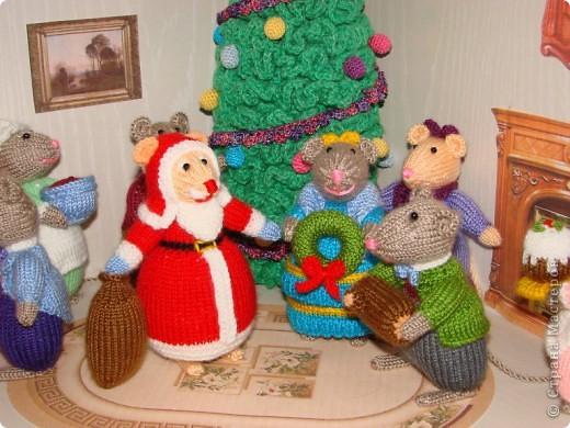 У моих мышек уже Новый год!!! фото 2